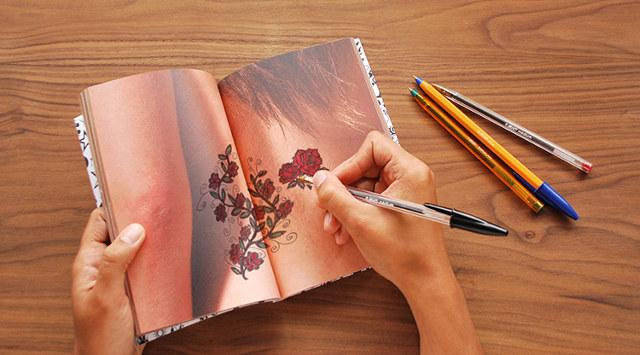 the Tattoo Drawing Notebook
