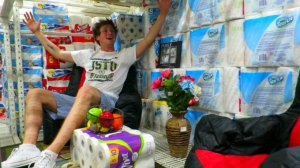 Insane Walmart Toilet Paper Fort