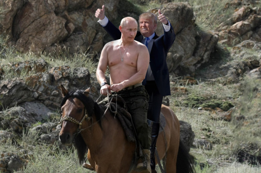 Putin Loves Trump – Low Rent Lifestyle