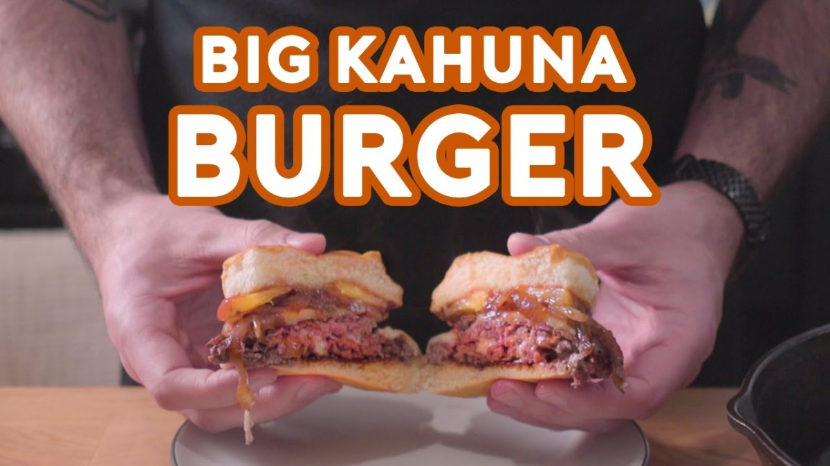 Guy Makes and Eats the Big Kahuna Burger from Pulp Fiction So You Don ...