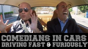 Comedians in Cars Driving Fast Furiously