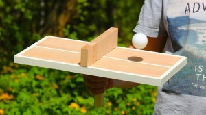 DIY Ping Pong Table Tennis Game for One Person