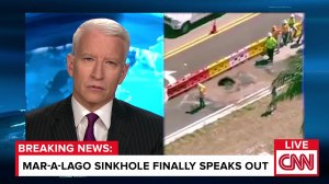 EXCLUSIVE- Mar-a-Lago Sinkhole Finally Breaks His Silence