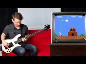 Bass Guitar Super Mario